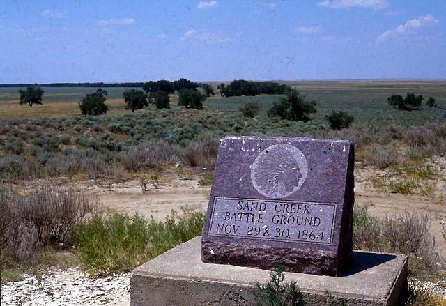 Sand Creek Memorial Stone