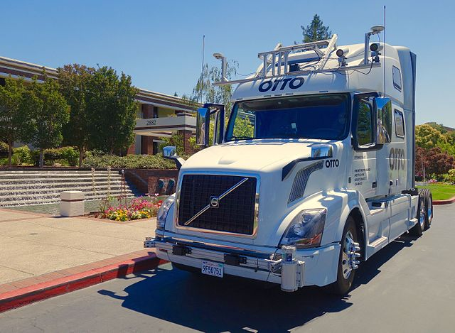 Uber OTTO autonomous driving truck by Steve Jurvetson